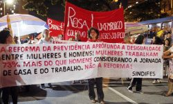 Centro de Belo Horizonte é ocupado pelas lutas do 8 de Março 2