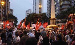 Milhares vão às ruas de Belo Horizonte contra a Reforma da Previdência 2