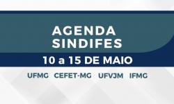 Agenda de Atividades 10 a 15 de maio 2