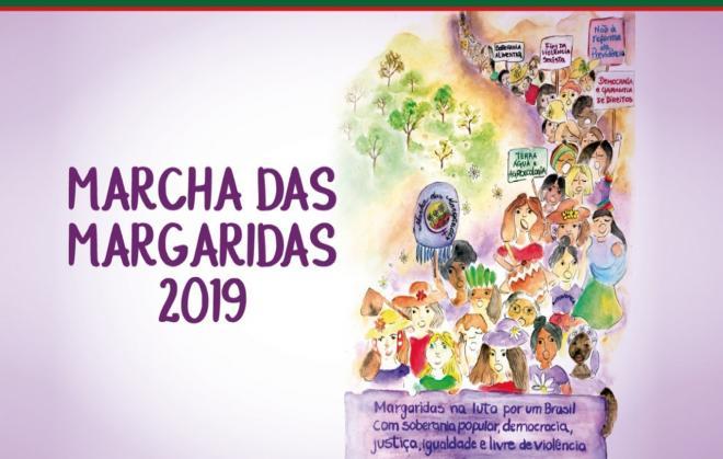 Informações sobre a Caravana para a Marcha das Margaridas - Saída 13/8 1