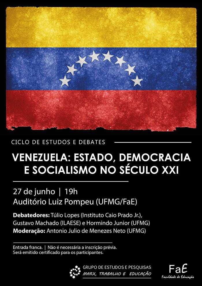 Grupo de Estudos da FAE promove mesa redonda: Venezuela: Estado, Democracia e Socialismo no Século XXI 1