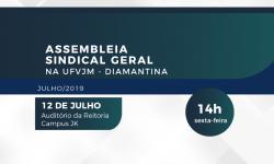 SINDIFES convoca TAE da UFVJM para Assembleia sobre recomposição do Núcleo de Base 3