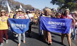 SINDIFES e FASUBRA Sindical participam da Marcha das Margaridas em Brasília 1