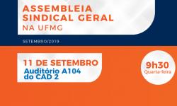 SINDIFES convoca TAE da UFMG para Assembleia que discutirá jornada de trabalho, cortes das FG e capacitação 1
