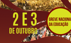 Confira a Agenda da base do SINDIFES para a Greve Nacional da Educação de 48h 2