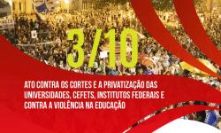 SINDIFES convoca Categoria para Tsunami da Educação no dia 3 de outubro em Belo Horizonte 2