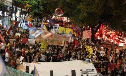 Atos em Betim e BH levam às ruas as pautas do Dia de Luta em Defesa do Brasil 1