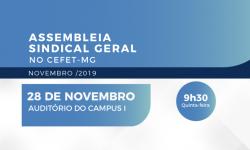 SINDIFES convoca TAE do CEFET-MG para Assembleia nesta quinta, 28, no Campus I, em Belo Horizonte 1