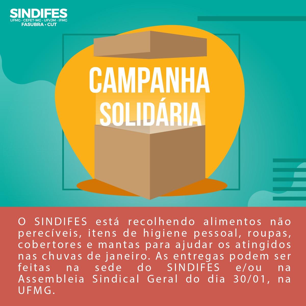 Estamos recebendo doações para as famílias que sofreram com as chuvas na região metropolitana de Belo Horizonte 1