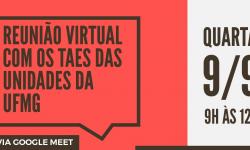 Acesse a Reunião Virtual com os TAE da UFMG 2