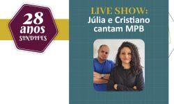 Assista a Live com o Show e Participe do Sorteio desta sexta, 23 2