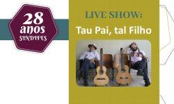 Assista a Live com o Show e Participe do Sorteio desta terça, 27 3