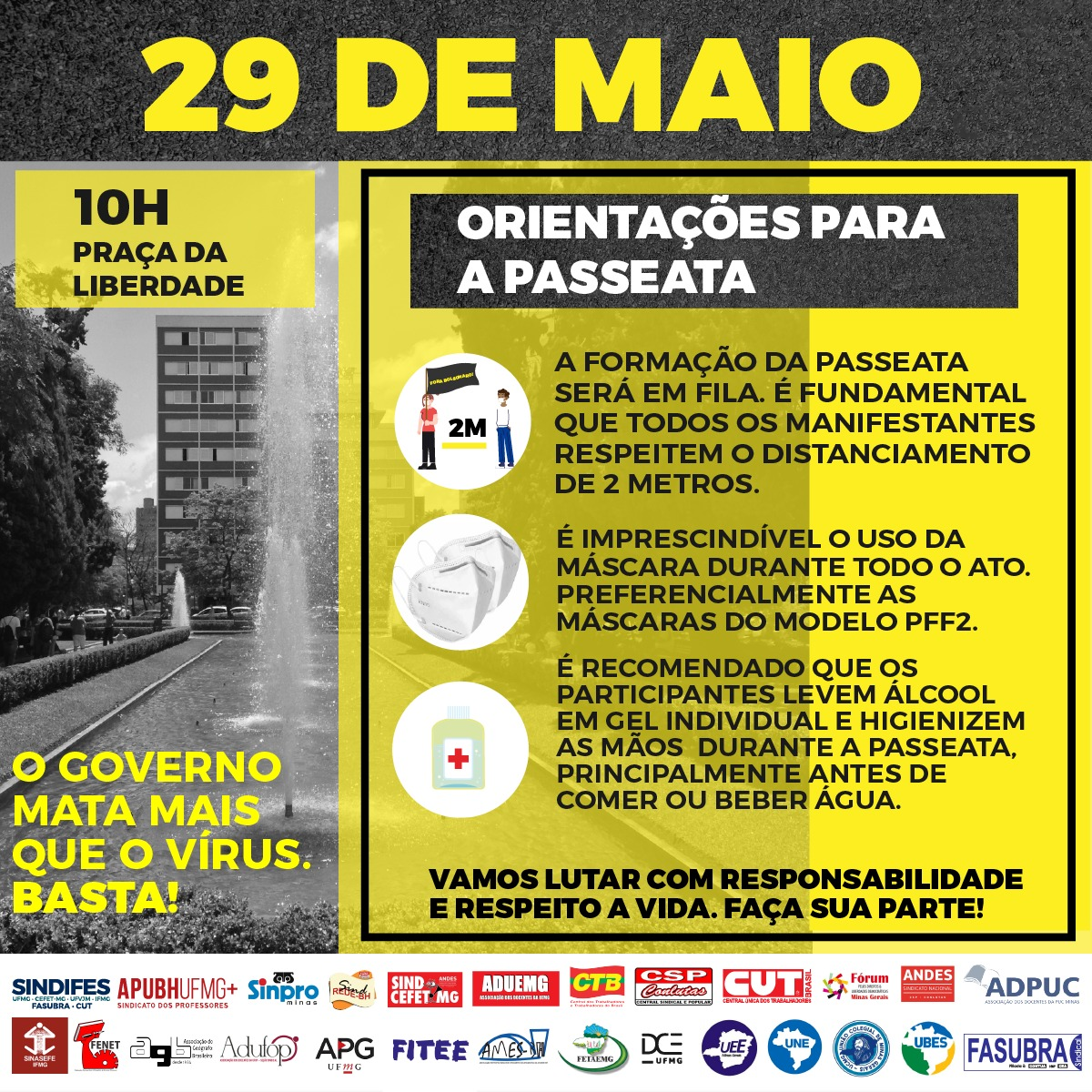 Ato Fora Bolsonaro - 29 de maio 13