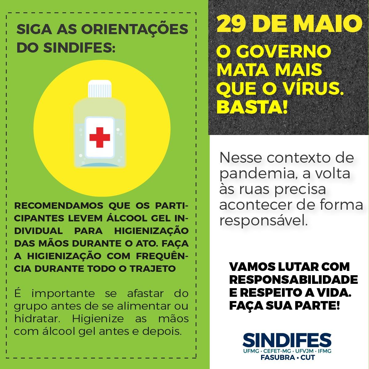Ato Fora Bolsonaro - 29 de maio 16