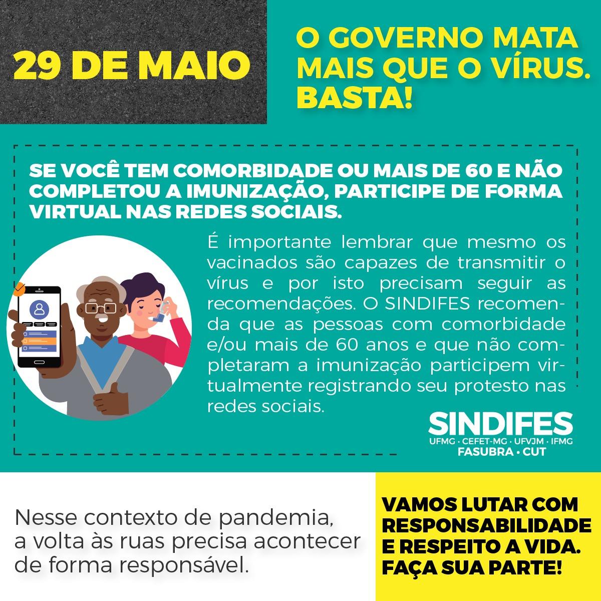 Ato Fora Bolsonaro - 29 de maio 17