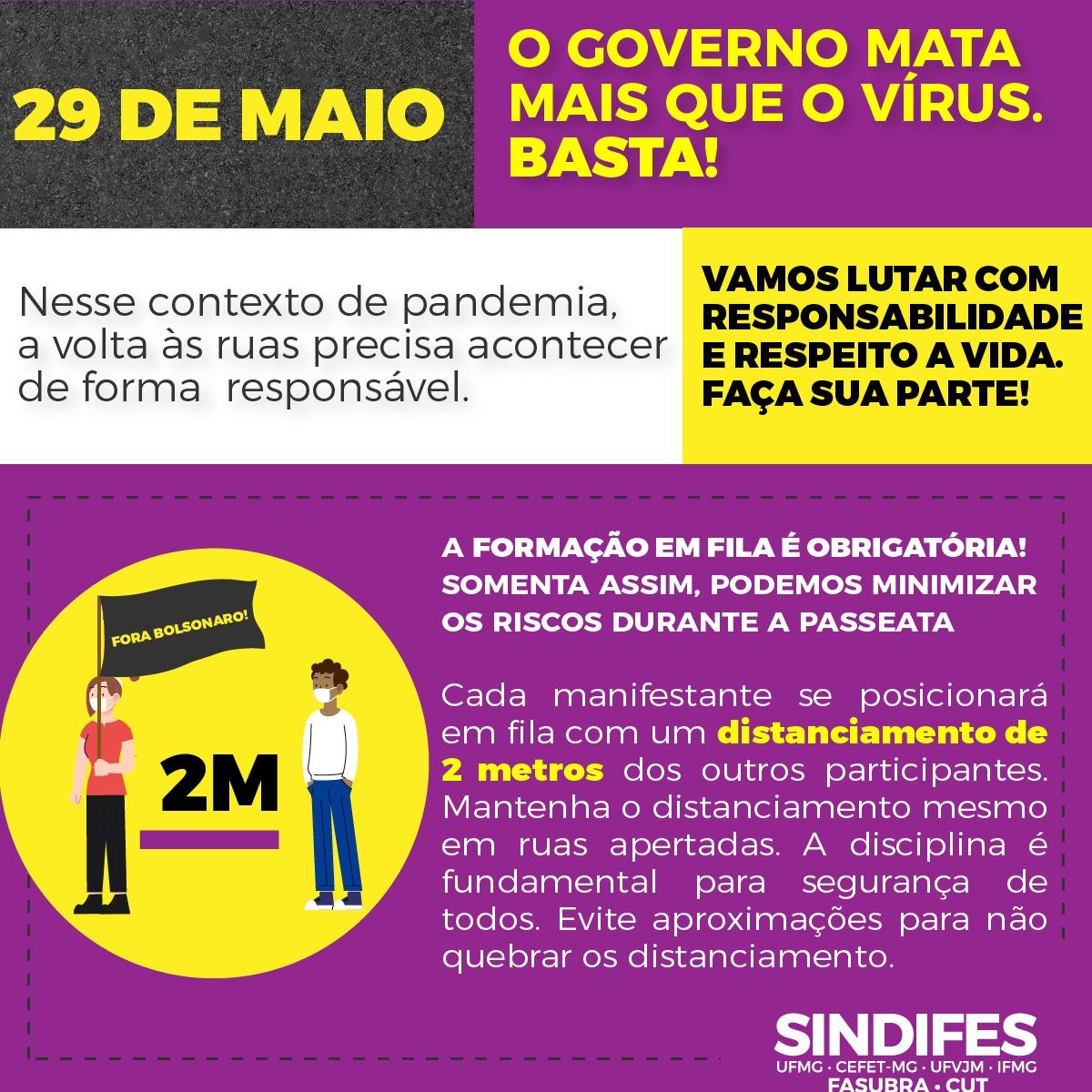 Ato Fora Bolsonaro - 29 de maio 14
