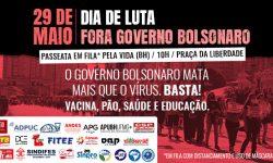 Ato Fora Bolsonaro - 29 de maio 8