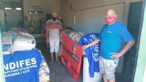 Campanha de Solidariedade do SINDIFES entrega mais de 300 cestas e apoia 27 iniciativas de solidariedade em Belo Horizonte, Montes Claros, Diamantina e Teófilo Otoni 36