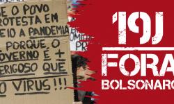 19J - Ato pelo Fora Bolsonaro no dia 19 de junho 1