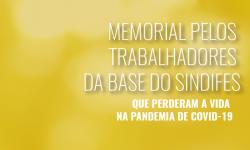 Em Memória dos Trabalhadores da Educação que perderam a vida na pandemia de Covid-19 4