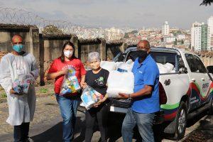 Campanha de Solidariedade do SINDIFES entrega mais de 300 cestas e apoia 27 iniciativas de solidariedade em Belo Horizonte, Montes Claros, Diamantina e Teófilo Otoni 37