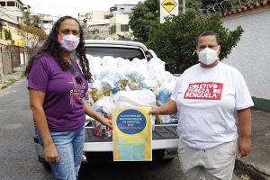 Campanha de Solidariedade do SINDIFES entrega mais de 300 cestas e apoia 27 iniciativas de solidariedade em Belo Horizonte, Montes Claros, Diamantina e Teófilo Otoni 41