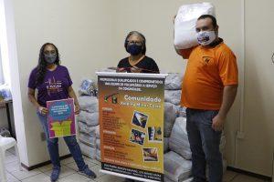 Campanha de Solidariedade do SINDIFES entrega mais de 300 cestas e apoia 27 iniciativas de solidariedade em Belo Horizonte, Montes Claros, Diamantina e Teófilo Otoni 34