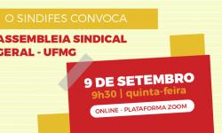 Assembleia da UFMG no dia 9 de setembro discutirá retorno de 40% ao trabalho presencial 1