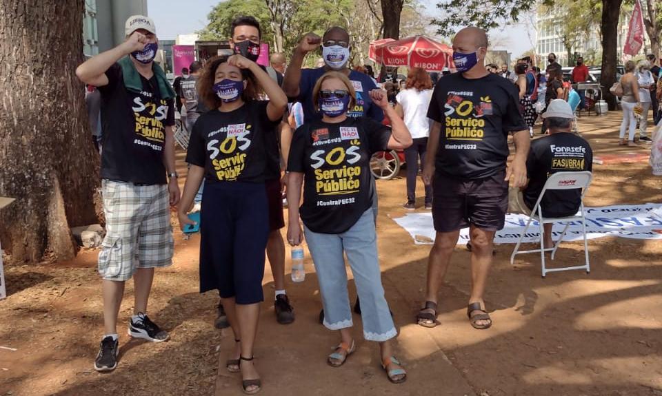 Categoria está em Brasília para tentar barrar a Reforma Administrativa 3